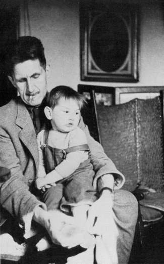 Orwell and son Richard